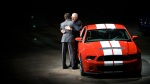 Carroll Shelby and Mark Fields