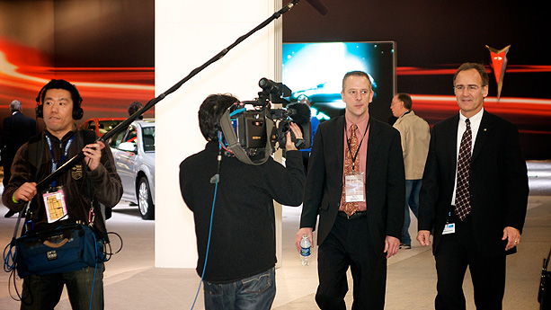 Media at NAIAS