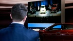 GM employee overlooks presentation