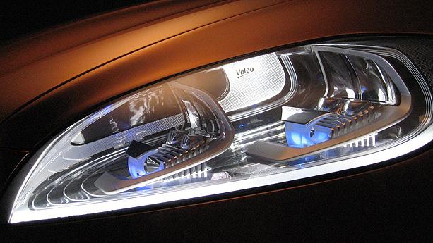 Valeo headlights (Volvo S60 Concept)