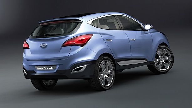 Hyundai Ix Ionic Concept Auto Show By Auto Trader