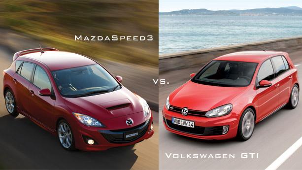MazdaSpeed3 vs. Volkswagen GTI