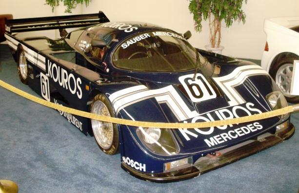1986 Sauber Mercedes Kouros Racing Team Group C Race Car
