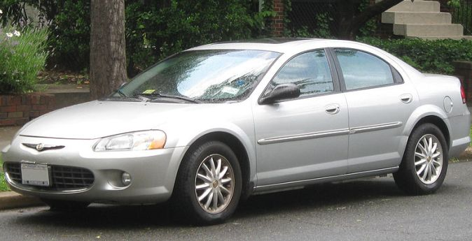 2002 Chrysler Sebring LX. Share this: Facebook