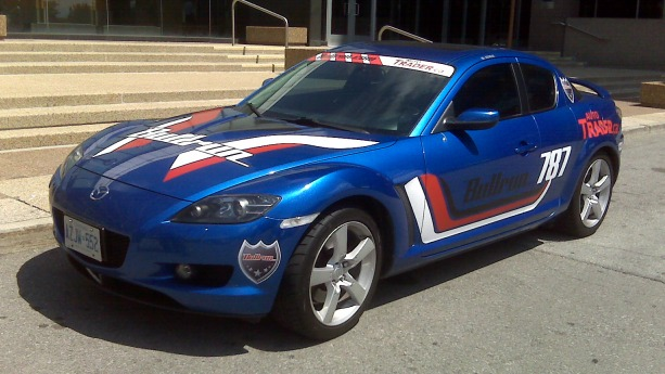 The Autotrader/Bullrun RX-8