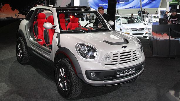 Mini Beachcomber Concept Auto Show By Auto Trader