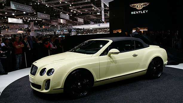Bentley Continental GTC Super Sports