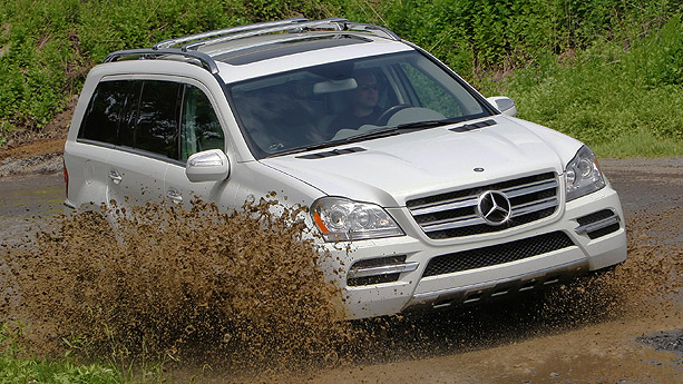 2010 Mercedes GL350 BlueTEC. Of course, with the state of the market,