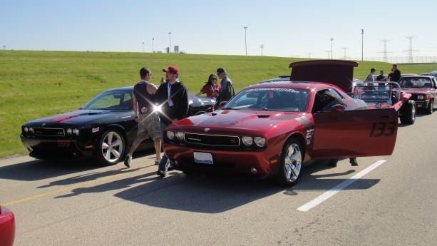 Dodge Challenger SRT8 and Dodge Challenger R/T