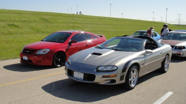 Chevrolet Camaro SS and Chevrolet Cobalt SS