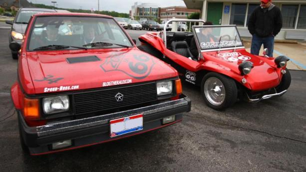 Dodge Omni GLS and WRX Powered VW Bucket