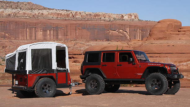 2010 Jeep trail edition tent trailer