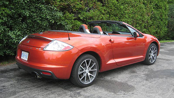 mitsubishi eclipse spyder auto show  auto trader