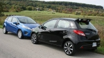 2011 Ford Fiesta vs 2011 Mazda2