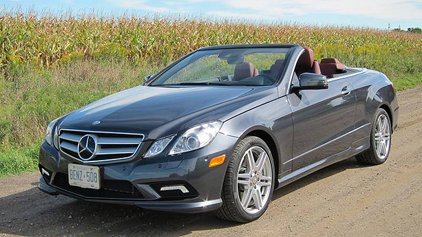 2011 mercedes benz e350 cabriolet auto show by auto trader. Black Bedroom Furniture Sets. Home Design Ideas