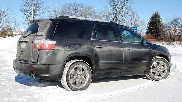 2011 Gmc Acadia Denali Ottawa To The Chicago Auto Show