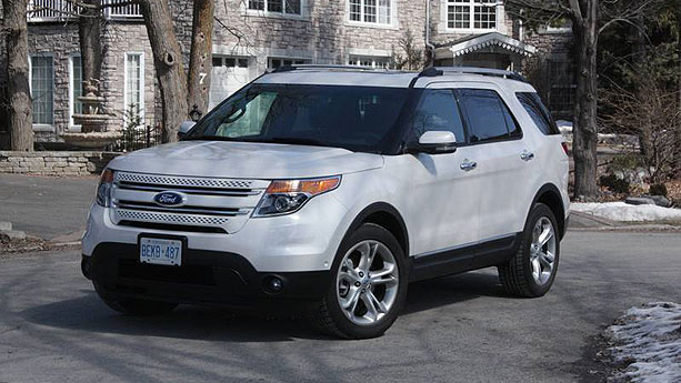 2011 Ford Explorer Limited Auto Show By Auto Trader